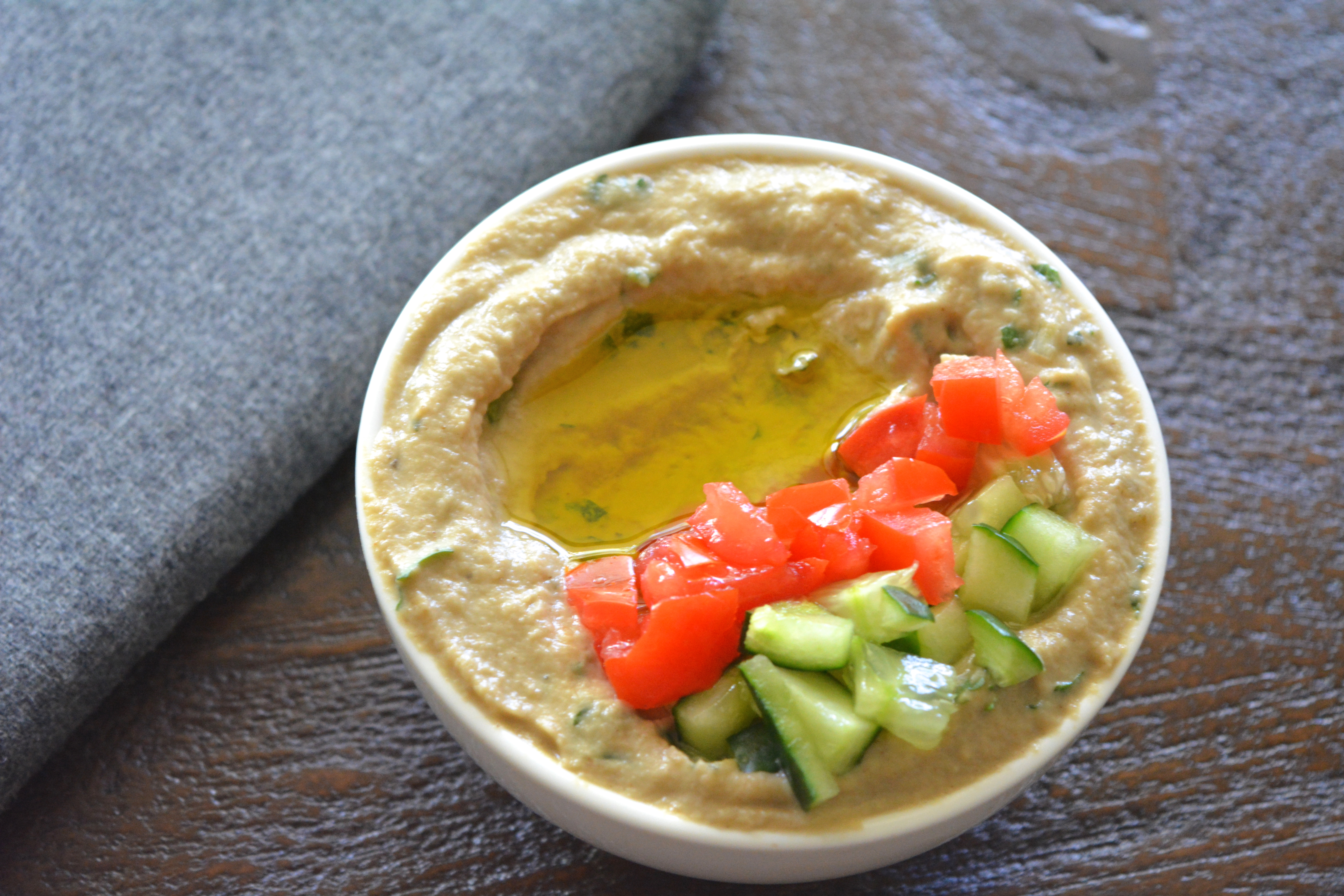 Meatless Monday-Omar's Baba Ganoush