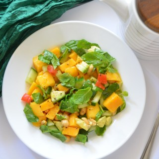 Meatless Monday-Sunshine Salad