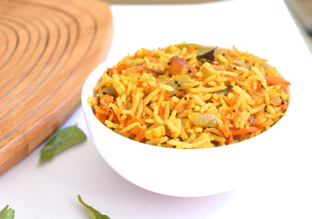 Carrot Turmeric Rice