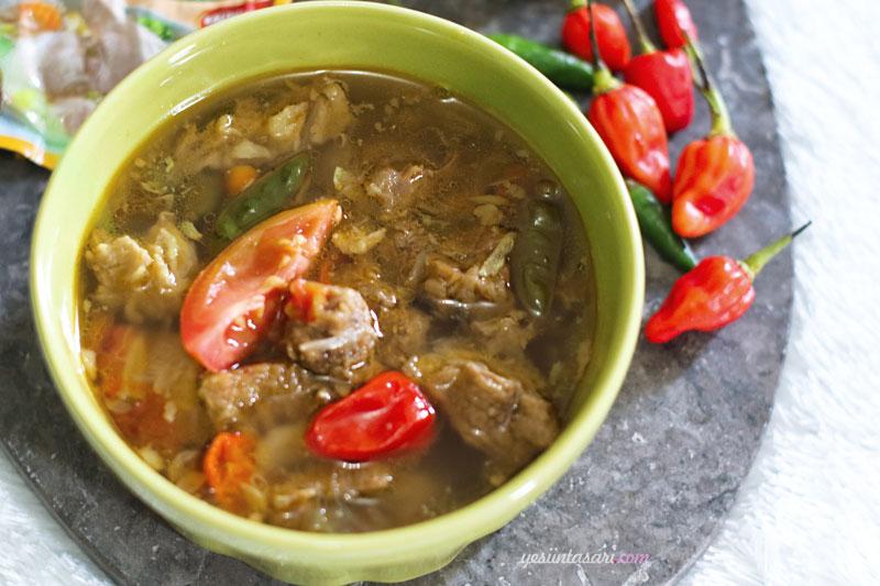 Resep Daging Sapi Kuah Pedas Home Cooking Notes