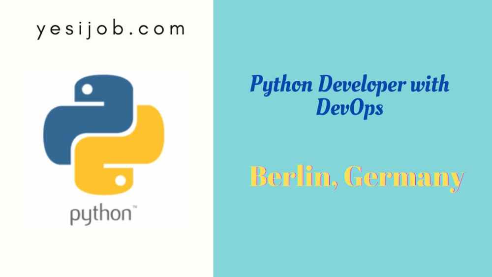 Python Developer with DevOps