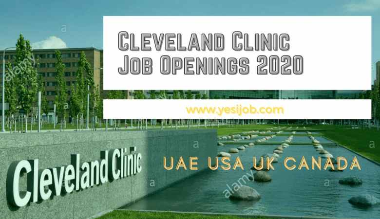 Cleveland Clinic Job Openings 2020