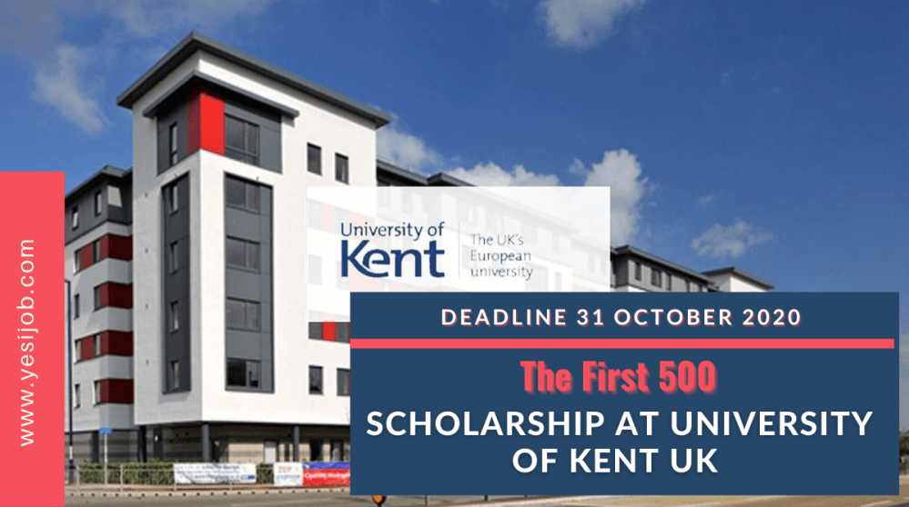 Scholarship at University of Kent