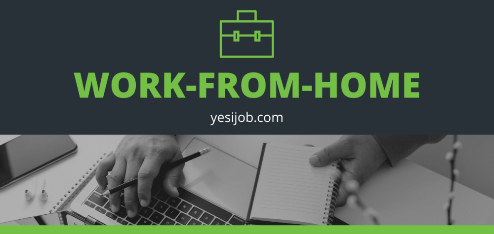 Remote Work-From-Home Jobs Right Now
