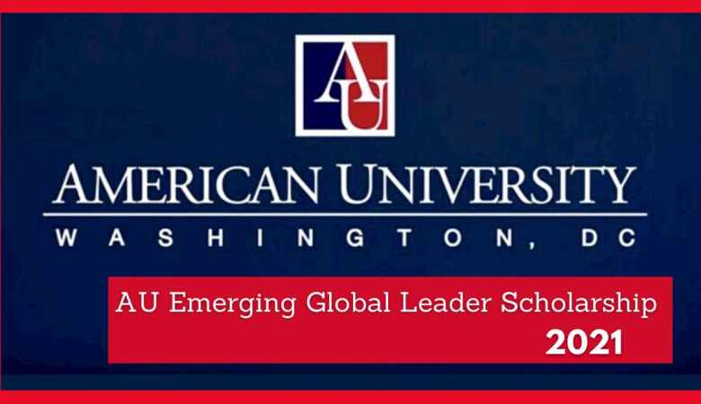 AU Emerging Global Leader Scholarship 2021