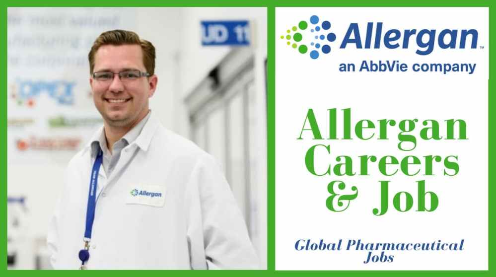 Job Openings at Allergan Company