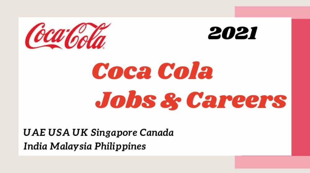 Coca-Cola Job Vacancies