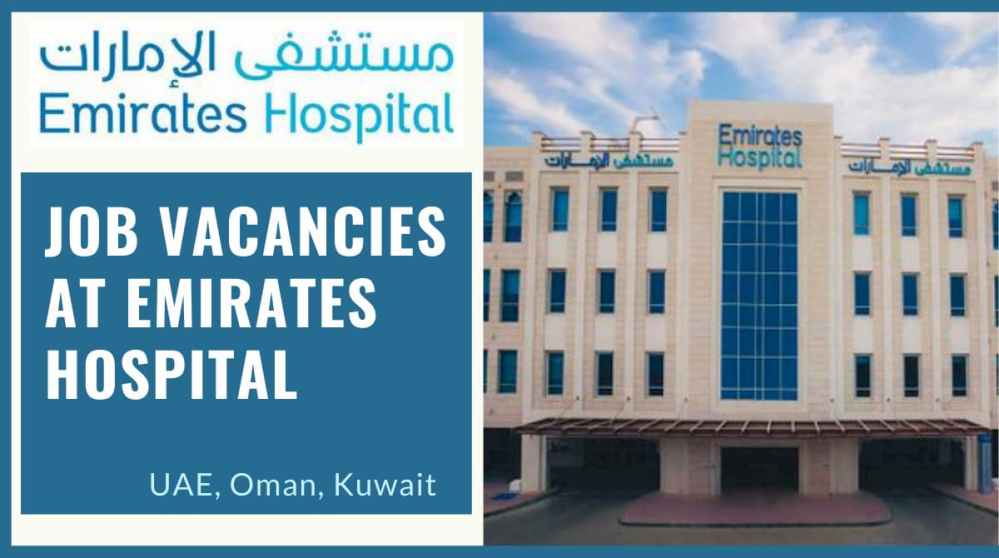 Job Vacancies at Emirates Hospital