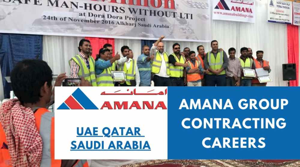 Amana Group Contracting Careers: