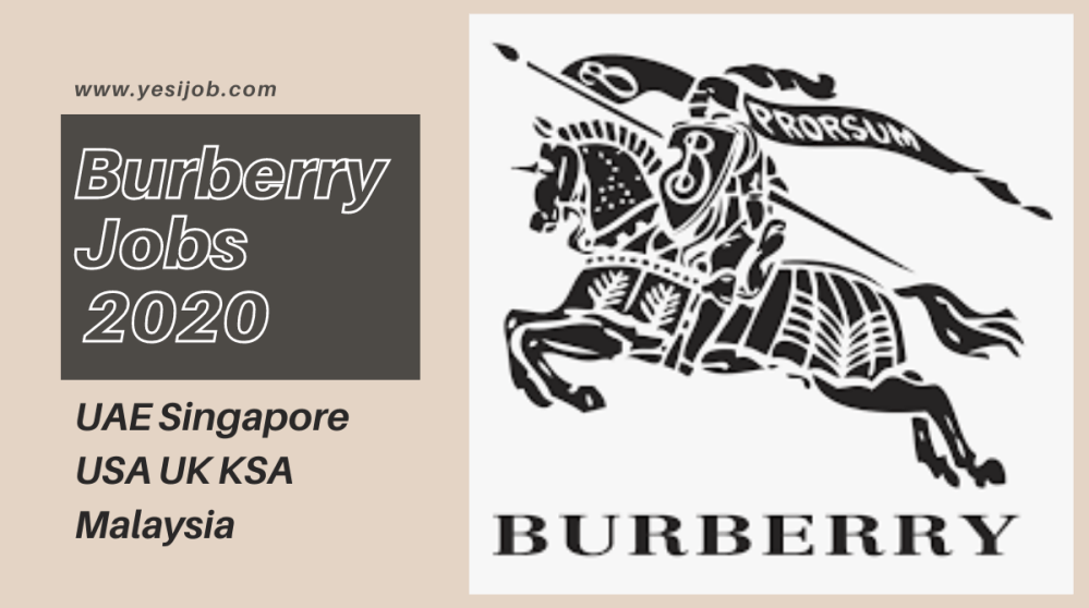 Burberry Jobs