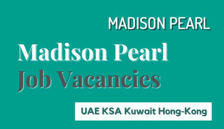 Madison Pearl Jobs