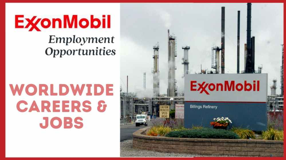 ExxonMobil Employment Opportunities 2021