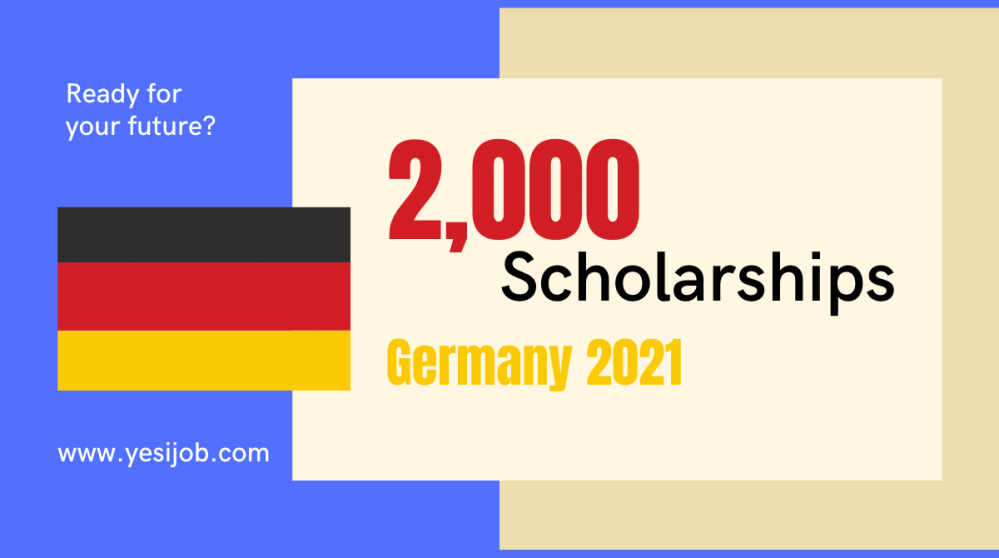 Scholarships in Germany 2021