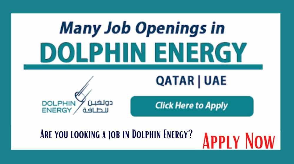 Are you looking a job in Dolphin Energy