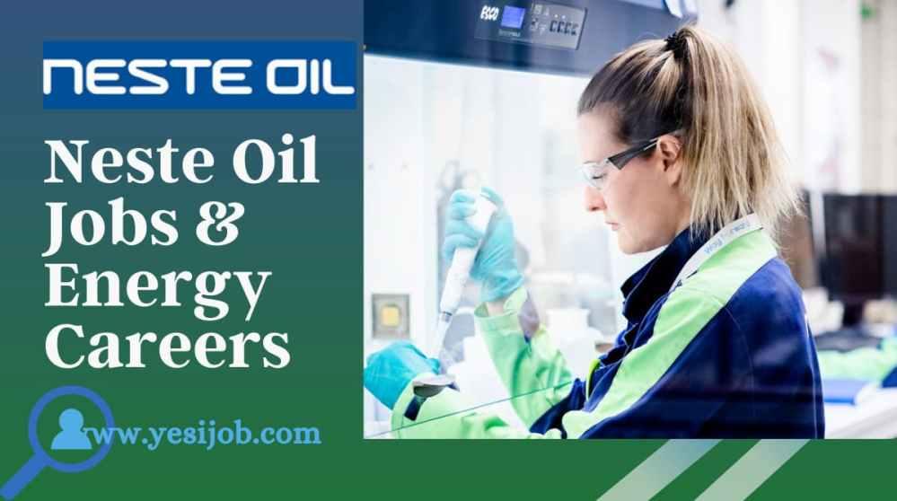 Neste Oil Jobs & Energy Careers