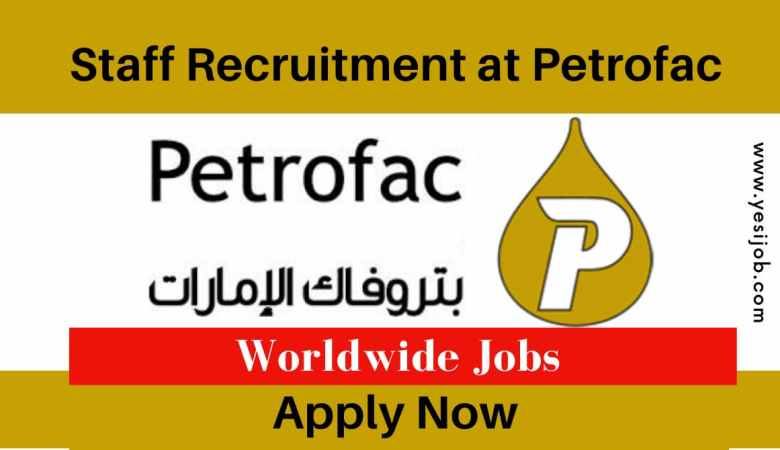 Petrofac Job Vacancy