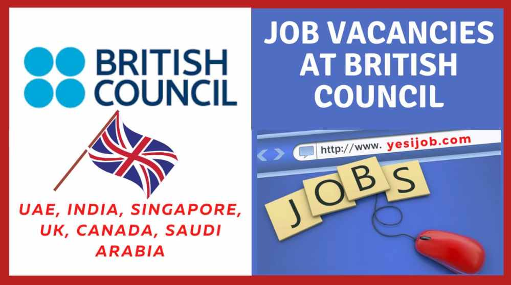 British Council Job Vacancies