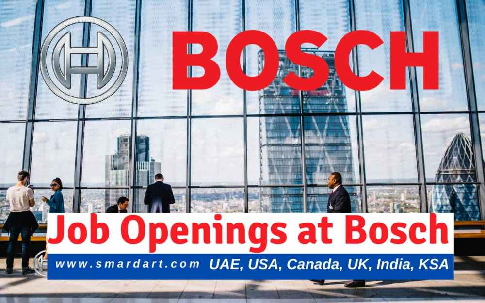 Latest Job Openings at Bosch