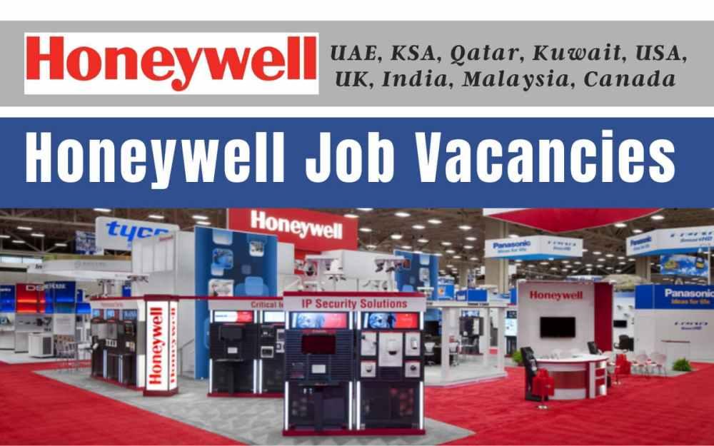 Honeywell Job Vacancies