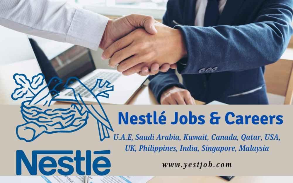 Nestle Jobs