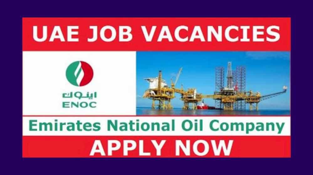 ENOC Job Vacancies