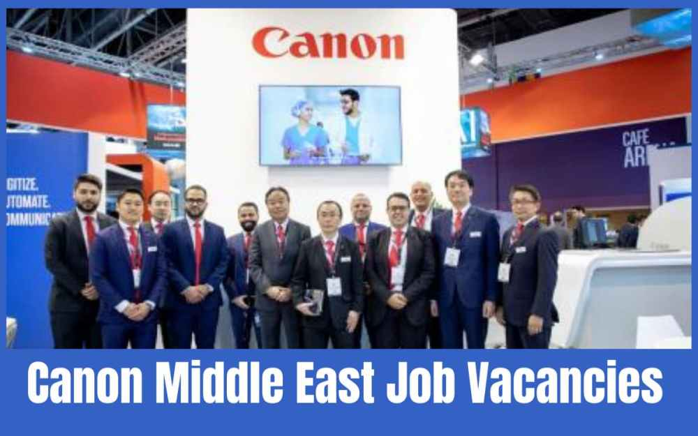 Canon Middle East Jobs