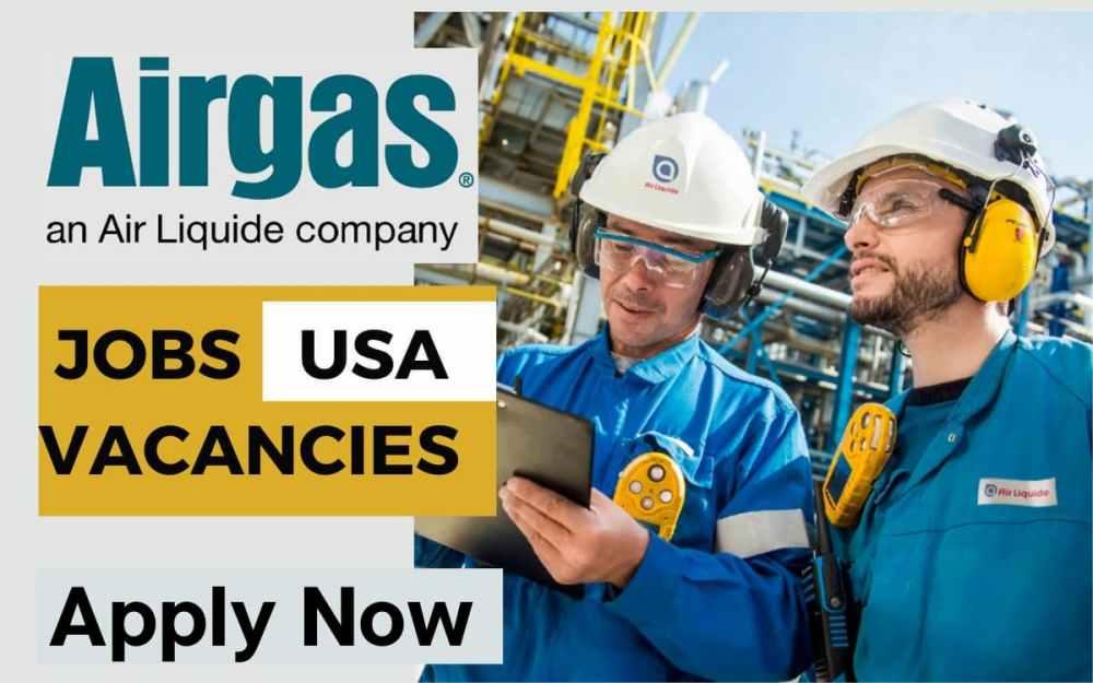 Airgas Job Vacancy