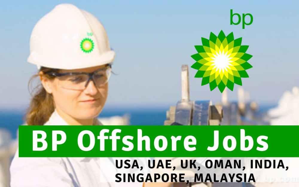 BP Offshore Jobs USA