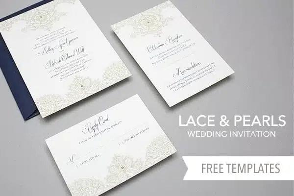 Free Wedding Invitation Templates