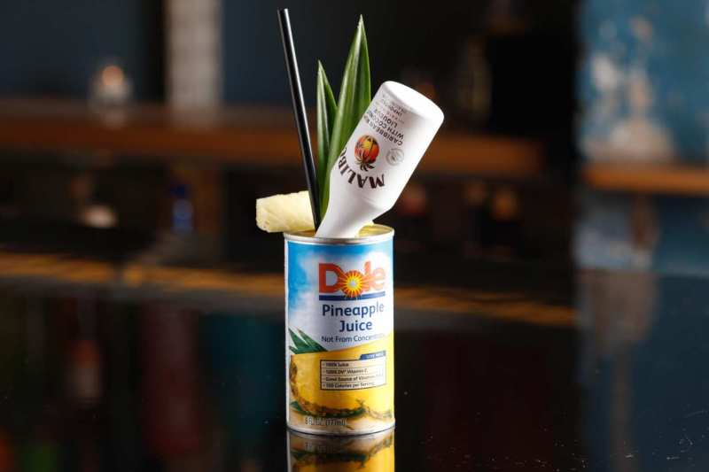Genuine Liquorette London Cocktail Malibu Dole Pineapple Juice YesMore Agency
