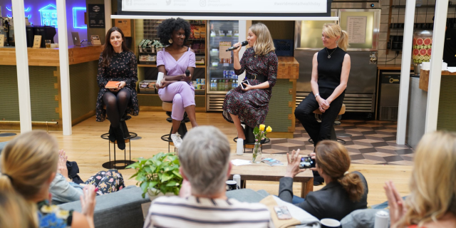 Event at WeWork Holborn in London about Mental Health in the workplace hosted by Poppy Jamie