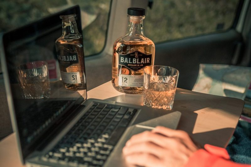 Balblair Highland Whisky social media content by Harry Baker for YesMore Whisky Marketing Agency