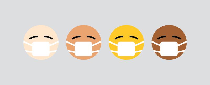 Coronavirus COVID-19 restaurant marketing guidelines and advice yesmore agency face mask emoji