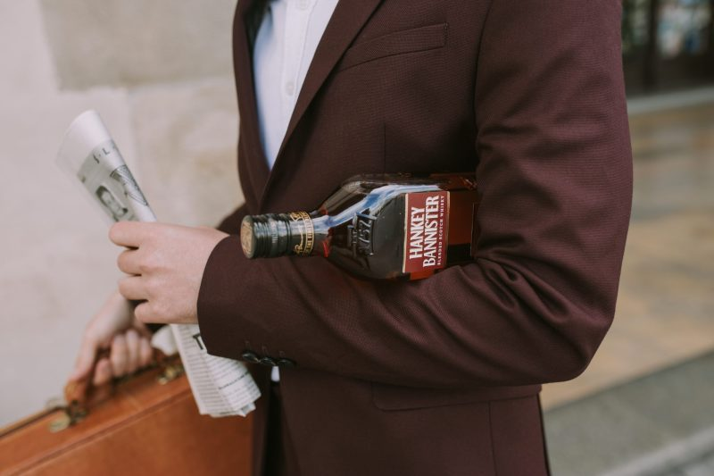 Hankey Bannister Blended Whisky social media content by Grzegorz Paliś for YesMore Whisky Marketing Agency