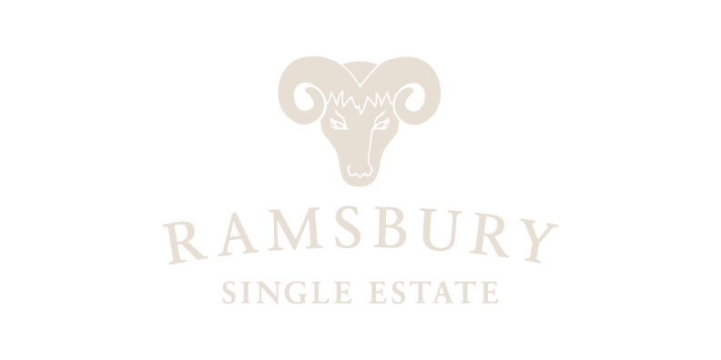 Ramsbury Single Estate Spirits logo with transparent background on YesMore Off Trade Marketing Agency landing page