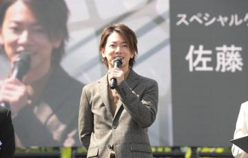 熊本城の復旧記念式典に佐藤健