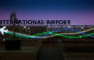 大阪国際空港イルミネーション
