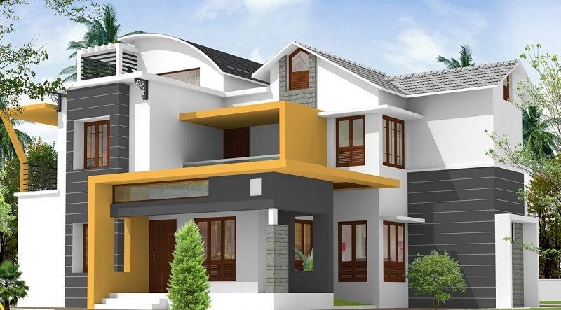 exteriors-on-indian-home-design-modern-exterior-and ...