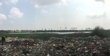 Panorama of the land