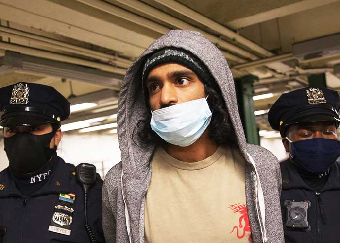 Vemulapati Aditya Arrested In New York For Pushing Women On To Track