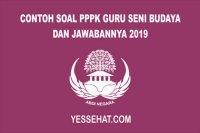 Contoh Soal PPPK Guru Seni Budaya 2019