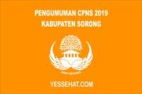 Jadwal Pendaftaran CPNS Kabupaten Sorong 2019