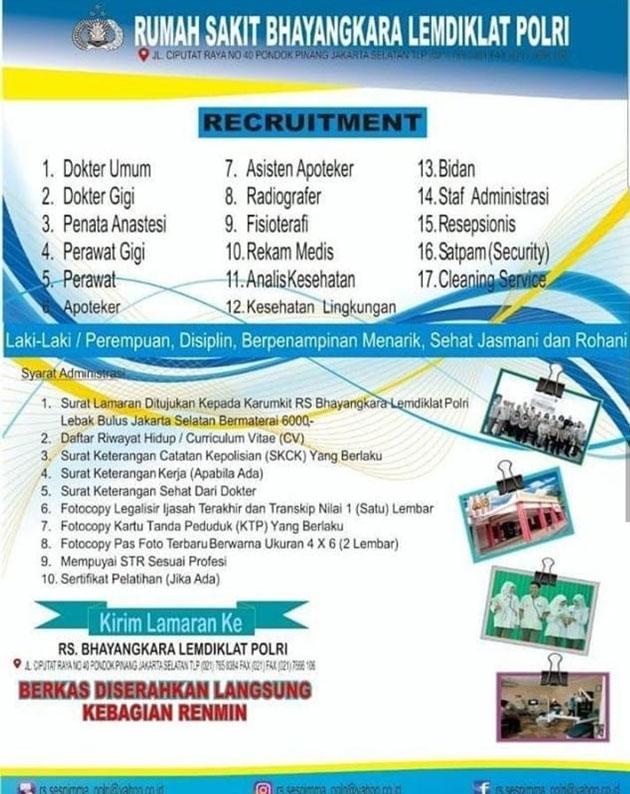 Lowongan Kerja Di Rumah Sakit Daerah Yogyakarta Info Seputar Kerjaan