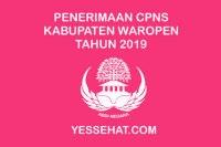Pengumuman Hasil Seleksi Administrasi CPNS Waropen 2019