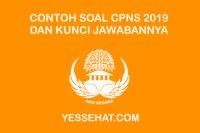 Contoh Soal CPNS 2019 PDF dan Kunci Jawabannya