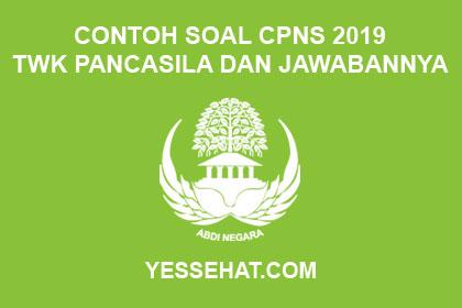 Contoh Soal CPNS TWK Pancasila dan Jawabannya