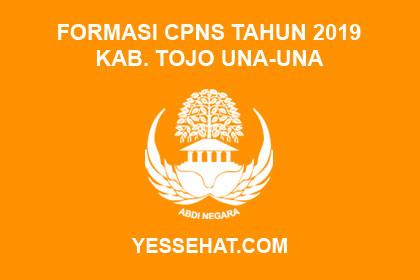 Formasi CPNS Kabupaten Tojo Una-Una Tahun 2019