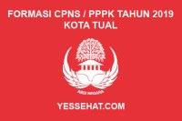 Formasi CPNS / PPPK / P3K Kota Tual 2019