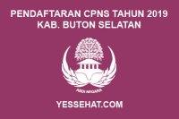 Pendaftaran CPNS Kabupaten Buton Selatan Tahun 2019