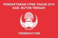 Pendaftaran CPNS Kabupaten Buton Tengah Tahun 2019
